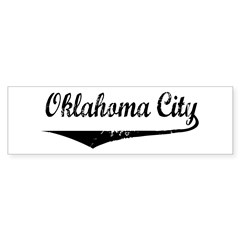 Oklahoma City Bumper Bumper Sticker