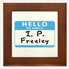 I. P. Freeley Framed Tile