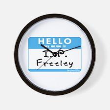 I. P. Freeley Wall Clock
