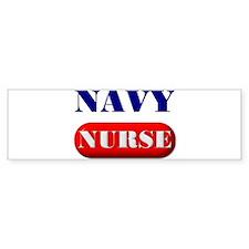 Navy Nurse Bumper Bumper Sticker
