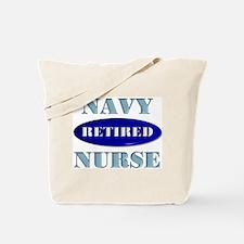 Retired Navy Tote Bag