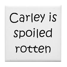Cool Carley Tile Coaster