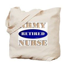 Retired ARMY Tote Bag