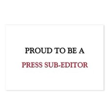 Proud to be a Press Sub-Editor Postcards (Package