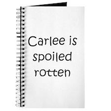 Cool Carlee Journal