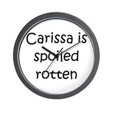 Cool Carissa Wall Clock