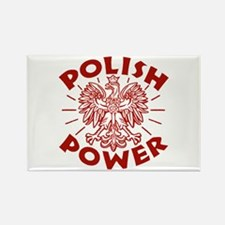 Polish Power Rectangle Magnet
