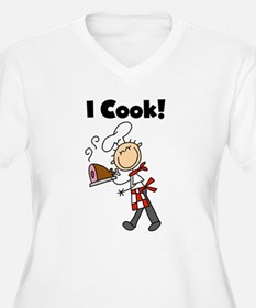 Male Chef I Cook T-Shirt