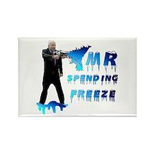 McCain Mr. Spending Freeze Rectangle Magnet