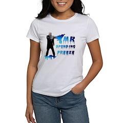 McCain Mr. Spending Freeze Women's T-Shirt