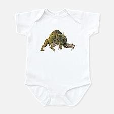 Cute Reptile party Infant Bodysuit