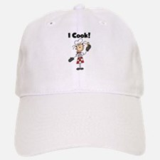 Female Chef I Cook Baseball Baseball Cap