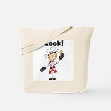 Female Chef I Cook Tote Bag