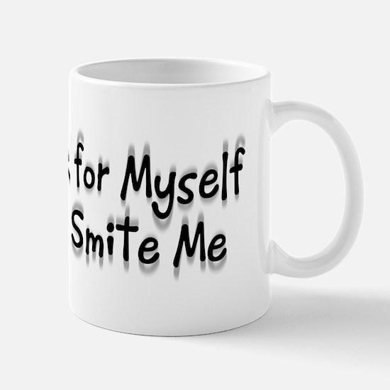 God Will Smite Me Small 11oz Mug