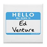 Ed Venture Tile Coaster
