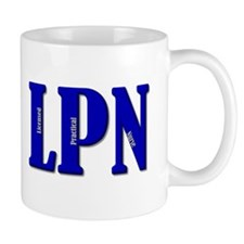 Blue LPN Mug