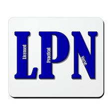 Blue LPN Mousepad