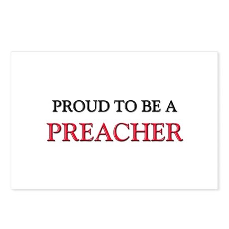 Proud to be a Preacher Postcards (Package of 8)
