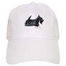 Scottish Terrier Profile Baseball Cap