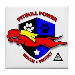 Pit Bull Power Tile Coaster