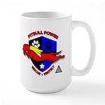 Pit Bull Power Large Mug