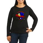 Pit Bull Power Women's Long Sleeve Dark T-Shirt