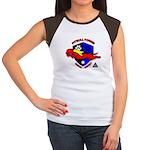 Pit Bull Power Women's Cap Sleeve T-Shirt
