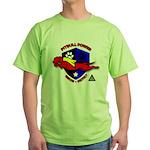 Pit Bull Power Green T-Shirt