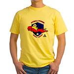 Pit Bull Power Yellow T-Shirt