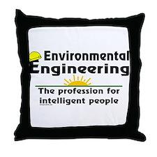 Environmental Genius Throw Pillow