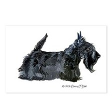 Scottish Terrier Profile Postcards (Package of 8)