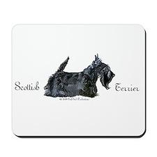 Scottish Terrier Profile Mousepad