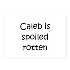 Unique Baby caleb Postcards (Package of 8)