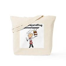 Male Cake Decorator Tote Bag