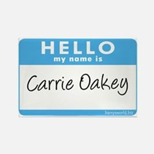 Carrie Oakey Rectangle Magnet (10 pack)