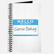 Carrie Oakey Journal