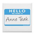Anne Teak Tile Coaster