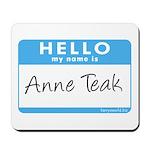 Anne Teak Mousepad