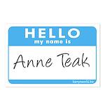 Anne Teak Postcards (Package of 8)