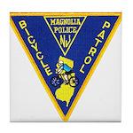 Magnolia Bike Police Tile Coaster