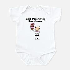Female Cake Decorator Infant Bodysuit