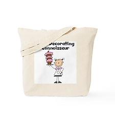 Female Cake Decorator Tote Bag