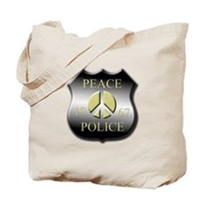 Peace Police Tote Bag