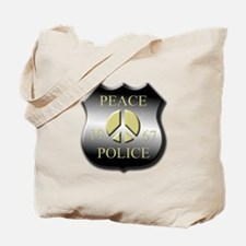 Peace Police Tote Bag