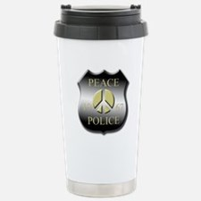Peace Police Stainless Steel Travel Mug