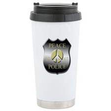Peace Police Travel Mug