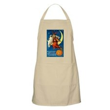 Owl and Witch BBQ Apron