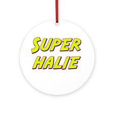 Super halie Ornament (Round)