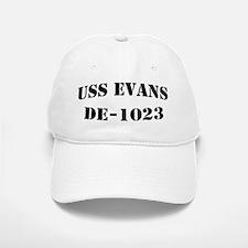 USS EVANS Baseball Baseball Cap