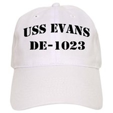 USS EVANS Baseball Cap